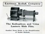 Le KODIOPTICON, première lanterne de projection Kodak dans Lanternes projection kodiopticon-01-150x116