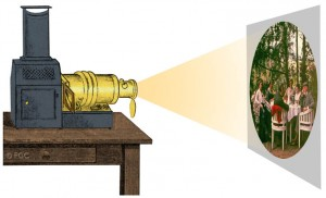 La projection de photographies en couleurs, procédé TRICHROME dans Images projetees couleur-31-300x182