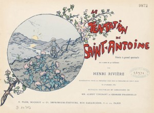 Rivire / Henri / 1864-1951 / 0070. La Tentation de saint Antoin